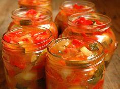 Ise tehtud. Hästi tehtud.: Magusmahe suvikõrvitsa-paprika-tomatihoidis