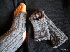 costura - knüten und preien - häkeln und stricken: Yoga-Socken (ohne Ferse und Spitze)