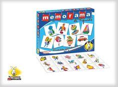 Este divertido juego de memoria contiene tarjetas con diferentes figuras, con el fin de que los pequeños aprendan a relacionar varias clases de plantas, animales y objetos.  No. de Jugadores: 2 a 6 Edad: 6 a 99 años. Contenido: 108 cartas con 54 figuras diferentes e instructivo.