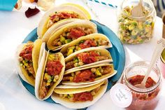 Enjoy a magnificent, south-of-the-border Mexican fiesta with these clever taco recipes.