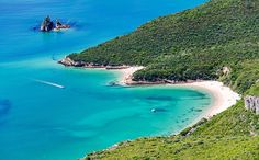 Home! Praia das Cabras and Praia dos Coelhos, Serra da Arrábida. These two beaches were once part of our family´s estate - Villa Galapos.