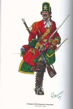 Spanish Dragoon of the War of The Spanish Succession.
