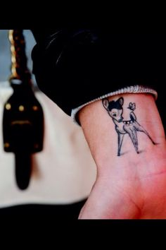 Bambi tattoo i will get this soon!