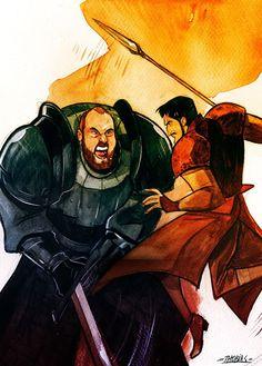 The Viper vs. The Mountain - Game of Thrones - Thobias Daneluz