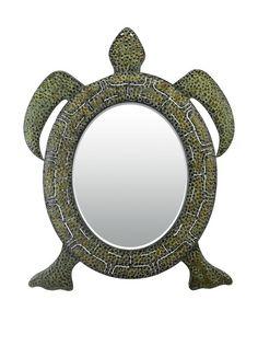 Artistic Lighting Reflecting Tortoise Mirror, Green/Black, http://www.myhabit.com/redirect/ref=qd_sw_dp_pi_li?url=http%3A%2F%2Fwww.myhabit.com%2Fdp%2FB01CNPVW2Y%3F