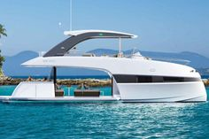 See The New Sleek And Slender Looking 70' Yacht From Ferretti - Ocean Of News