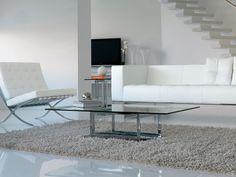 Tavolino in vetro in stile moderno da salotto EXCELSIOR - ITALY DREAM DESIGN