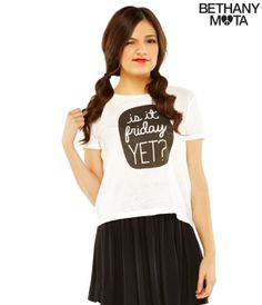 Bethany Mota's clothing line available at Aeropostale