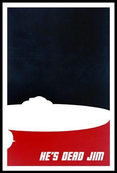 minimalist star trek poster