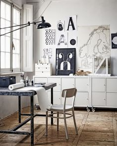 perfect work space according to maria. and i'd say i have to agree...very…