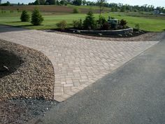 Now Is The Time For You To Know The Truth About paving contractors. Driveway Culvert, Driveway Entrance Landscaping, Gravel Driveway, Landscaping Retaining Walls, Driveway Design, Outdoor Landscaping, Outdoor Gardens, Landscaping Ideas, Driveways