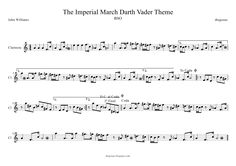 Imperial March de John Williams partituras de Flute Music from the Star Wars Soundtrack Theme por Darth Vader Saxophone Sheet Music, Piano Music, Violin Sheet, Oboe, Violin Songs, The Imperial March, Star Wars Love, Darth Vader, Book Boyfriends