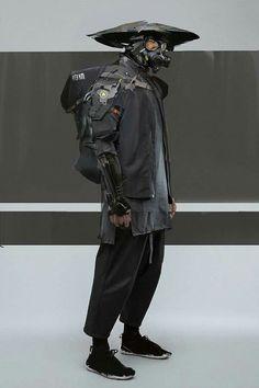Streetwear x Cyberpunk Cyberpunk Mode, Cyberpunk Kunst, Cyberpunk Fashion, Fashion Goth, Fashion Women, Cyberpunk Clothes, Steampunk Fashion, Character Concept, Character Art