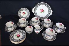Rare Vintage Royal Albert Senorita China Set... I want so badly!