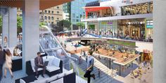 New Renderings for the Bloc Shopping Center
