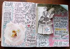 besottment by paper relics: Journaling: Advice on Where to Start