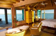 Over the water bungalow. Perfect!!! I'll take it!!! :)