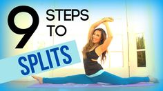How to Do the Splits in One Day. Doing the splits requires flexible hips. By stretching extensively and regularly you can gain the necessary flexibility to achieve the splits position. Depending on the amount of time you devote to. Stretches For Flexibility, Flexibility Workout, Stretching Exercises, Splits Stretches, Flexibility Challenge, Dance Stretches, Pop Pilates, Pilates Video, Pilates Yoga