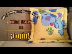 Cómo hacer un Cojín sin Cierre - Costura fácil | Paso a Paso - YouTube Sonia Franco, Lunch Box, Throw Pillows, Make It Yourself, Blog, Crafts, Couture, Style, Shape