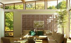 XIANKE 3D WALL PANEL (@HainingXianke) | Twitter Leather Wall Panels, 3d Wall Panels, Diy Tufted Headboard, Pvc Board, Solar Water Heater, Wall Sticker, Valance Curtains, Tiles, House Design