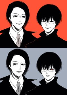 Furuta Nimura And Kaneki/Black Reaper/Sasaki Haise Kaneki, Anime Manga, Anime Art, Good Anime To Watch, Tokyo Ghoul Manga, Fanart, Anime Merchandise, Anime Costumes, Science And Nature