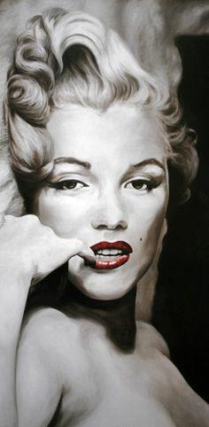 Marilyn Monroe by Frank Ritter