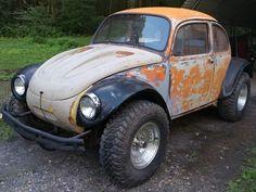 Volkswagon Van, Volkswagen Beetle, Fusca Cross, Combi Wv, Vw Baja Bug, Hot Vw, Car Mods, Scooter Girl, Vw Cars