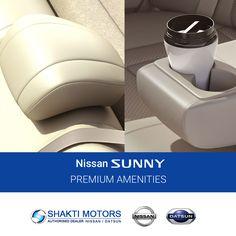 #Premium #Amenities- #Nissan #Sunny From Shakti Motor Book #TestDrive: https://goo.gl/rNxxO0 #Active #BookMyCar #MyCar #Datsun #DatsunCar #FirstCar #Road