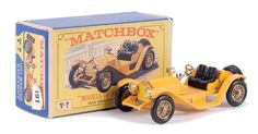 Matchbox Models of Yesteryear No.Y7-3 Mercer Raceabout Type 35J.