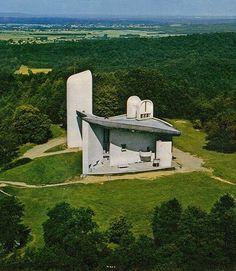 Chapelle de Notre-Dame du Haut, Ronchamp, Le Corbusier