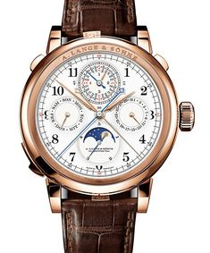 Topping off our list is A. Lange & Söhne's Grand Complication, also seen at SIHH 2013, going for 1.92 million euros (approximately $2,497,00...