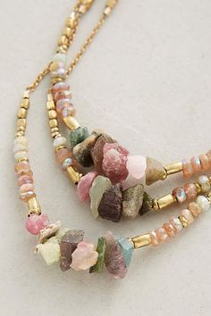 Draped Turmali Necklace