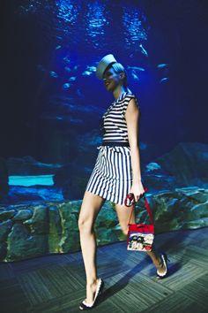 OLYMPIA LE-TAN Show at L'Aquarium de Paris, 27 SEP 2013