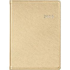 $40 2015 Large Gold Date Book