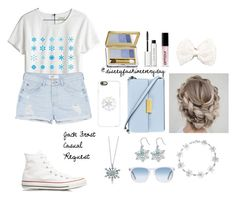 """""""Jack Frost"""" by disneyfashioneveryday ❤ liked on Polyvore featuring Casetify, Madewell, MANGO, Converse, Estée Lauder, Bobbi Brown Cosmetics, Armour, Full Tilt, STELLA McCARTNEY and BERRICLE"""