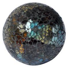 Blue & Green Mosaic Decorative Sphere