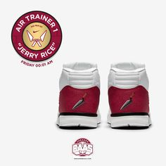 """#nike #nikeair #airtrainer #airtrainer1 #airtrainerone #jerryrice #sneakerbaas #baasbovenbaas  Nike Air Trainer 1 """"Jerry Rice"""" - This Friday 00:01 AM!  For more info about your order please send an e-mail to webshop #sneakerbaas.com!"""