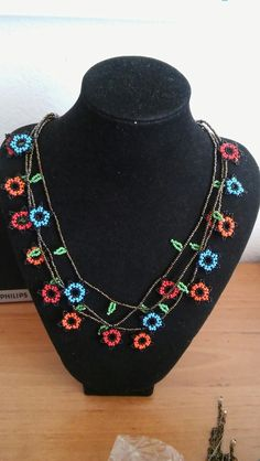 Diy Jewelry, Beaded Jewelry, Beaded Necklace, Jewelry Making, Folk Fashion, Daisy Chain, Brick Stitch, Beadwork, Seed Beads