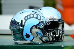 2012 North Carolina Chrome Helmet...this is AMAZING! Especially with the dark blue uniforms!
