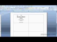 How to create a printe ready business card design adobe printing business cards in word video tutorial colourmoves