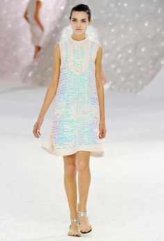 Chanel sequined dress Spring/summer 2012