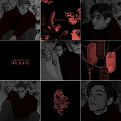 Russian Red, Bad Girl Aesthetic, Album Bts, Bts Taehyung, Instagram Feed, Kpop, Dark, Gucci, Shape