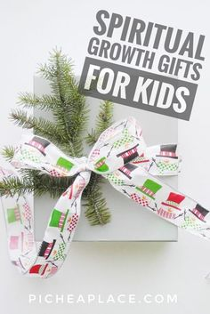 Does your family use the three gifts of the Magi formula? Here are ideas for the gift of frankincense - spiritual growth gifts for kids - listed by age.