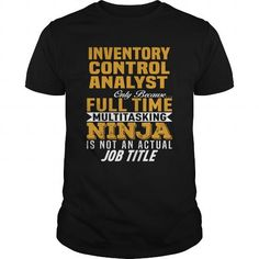I Love Inventory Control Analyst T-Shirts