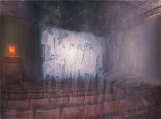 attila szucs, afterglow, oil on canvas, 140x190cm. 2014