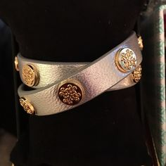 Rustic Cuff BRAND NEW SILVER/GOLD DOUBLE Meagan! Peg closures. Rustic Cuff Jewelry Bracelets