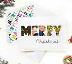 Merry Christmas Photocard & Envelope - Cricut Design Studio  Rob & Bob
