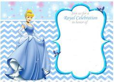 Cinderella: Free Printable Invitations, Party Printables and ...