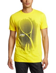 Asics Men's Some Racquet Tee, Bronze, Small by ASICS. $13.20. Look great on and off the court with this sharp performance top.