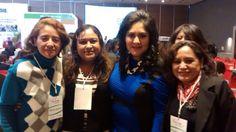Con La Senadora Diva Gastélum y mis dos nuevas amigas
